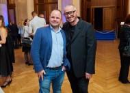 Art Award Verleihung 2019 - 14 Bernhard Mayer-Rohonczy (MUK Marketing & Kommunikation) & Wolfgang Reichl (Foto Starpix /Alexander Tuma)