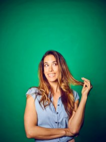 """""""Sisters of Comedy"""" erstmals am 12. November in Österreich: Mit dabei Nina Hartmann, Schauspielerin und Kabarettistin. (Foto Luis Casanova)"""
