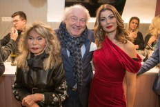 Opening des Beauty&Lifestyle Spa, Wien: Jeannine und Friedrich Schiller sowie Carmen Knor. (Foto Helmut Tremmel)