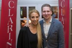 Opening des Beauty&Lifestyle Spa, Wien: Yvonne Rueff und Clemens Trischler. (Foto Helmut Tremmel)