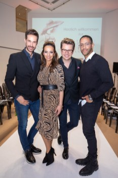 BRANDBOXX & STYLE UP YOUR LIFE! Fashion Night: Michael Lameraner, Petra Frey, Adi Weiss und Cesar Sampson (Foto Moni Fellner)