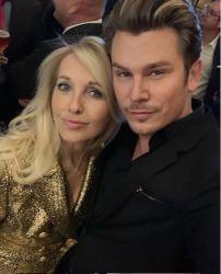 Uschi Fellner mit ihrem langjährigen Freund Adi Weiss. (Foto privat)