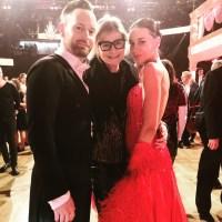 Dancing Stars 2020: Edita Malovcic & Florian Vana mit Hedi Grager. (Foto privat)