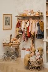 Lena Hoschek eröffnet mit ihrem Kinderladen Bunny Bogart bis Ende März einen Pop-Up Store in der Spiegelgasse. (Foto Michael Zahnschirm)