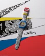 Swatch-Kooperation mit Disney und dem Keith Haring Studio. (Foto Swatch)