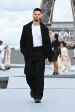 "Baptiste Giabiconi - ""Le Defile L'Oreal Paris 2021"". (Photo by Pascal Le Segretain/Getty Images For L'Oreal)"