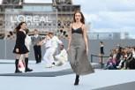 """Duygu Özaslan - """"Le Defile L'Oreal Paris 2021"""". (Photo by Pascal Le Segretain/Getty Images For L'Oreal)"""
