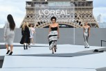 """Kat Graham - """"Le Defile L'Oreal Paris 2021"""". (Photo by Pascal Le Segretain/Getty Images For L'Oreal)"""