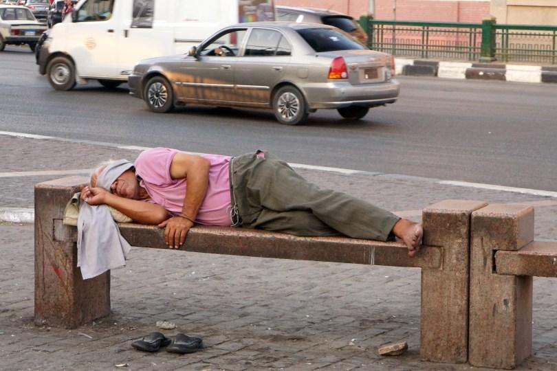 Egypte : Le Caire - Place Abdel Monem Riyad