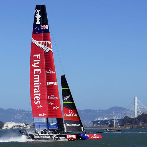 San Francisco - America Cup / Emirates Team NewZealand