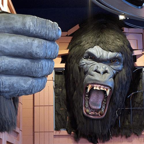 Los Angeles Hollywood Blvd - Wax Museum - King Kong