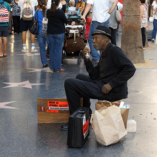 Los Angeles Hollywood Blvd - Who Is John Scott