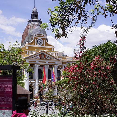La Paz - Place Murillo - Palais Du Gouvernement