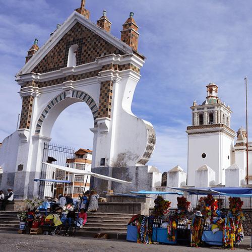"""Copacabana Bolivie / Basilique """"Nuestra Señora de Copacabana"""""""
