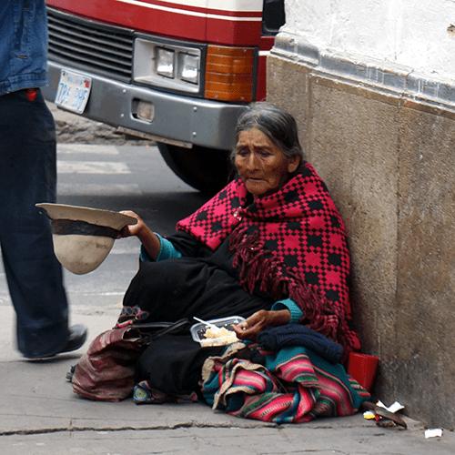 Sucre Bolivie - Mendiante