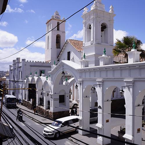 Sucre Bolivie - Eglise San Francisco