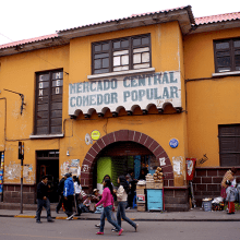 Bolivie - Potosi / Mercado Central