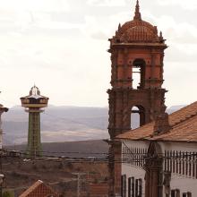 Bolivie - Potosi / Mirador de Pary Orcko