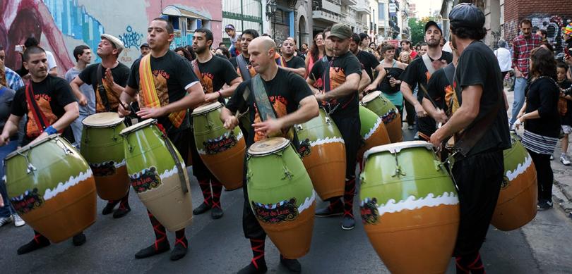 Argentine - BuenosAires / Llamada de candombe