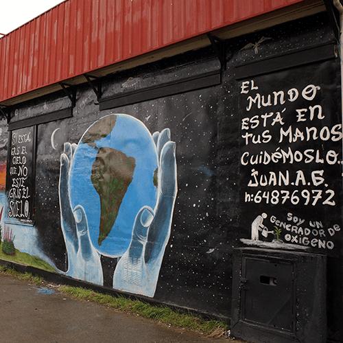Chili - Punta Arena / Mur Peint