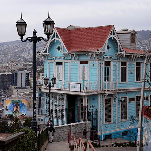 Chili - Valparaiso / Casa Quatro Vientos