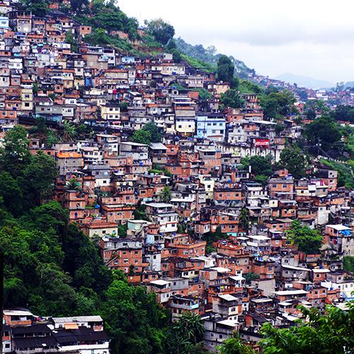 Brésil - Rio de Janeiro / Favela