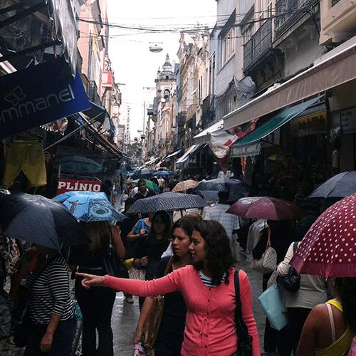 Brésil - Rio de Janeiro / Saara