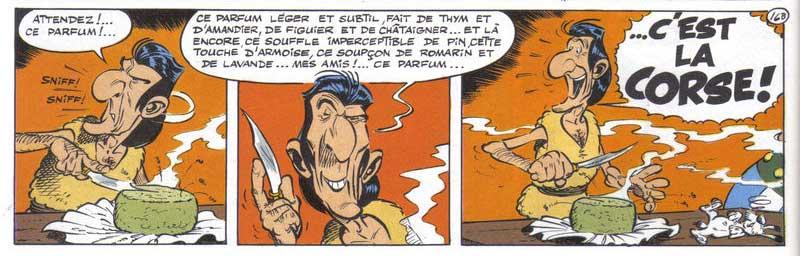 Astérix en Corse © René Goscinny et Albert Uderzo