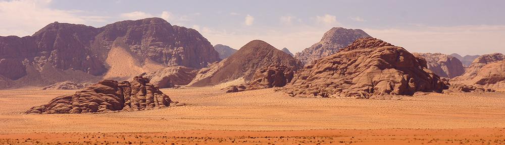 Le Wadi Rum : un désert au cœur de pierre tendre