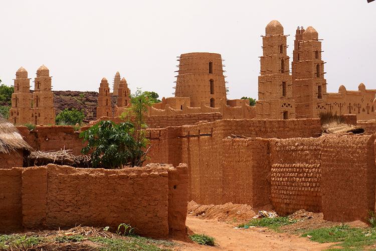 Burkina Faso - Bani - Grande Mosquée
