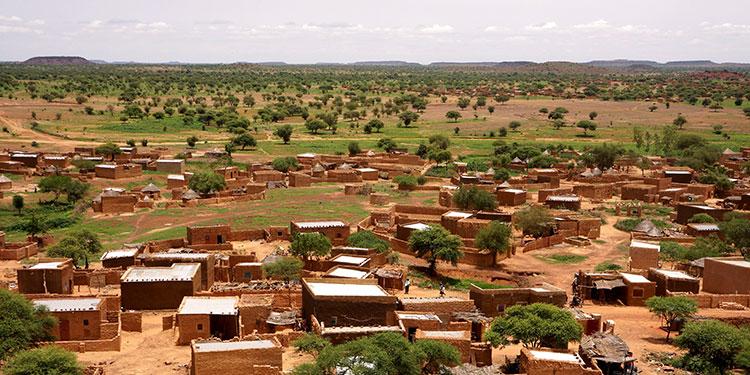 Burkina Faso - Bani Vue du Village