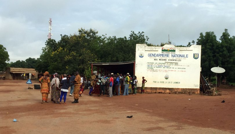 Burkina Faso - Gendarmerie de Niangoloko