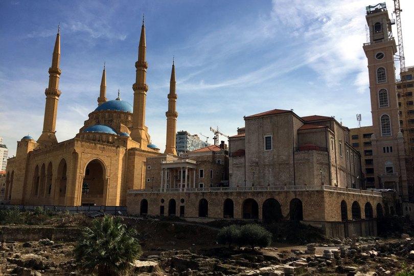 Beyrouth / Mosquée Al-Amîn