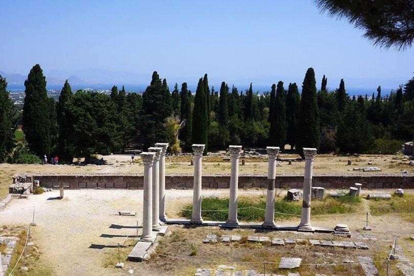 Grèce Kos l'Asclépion - temple d'Apollon