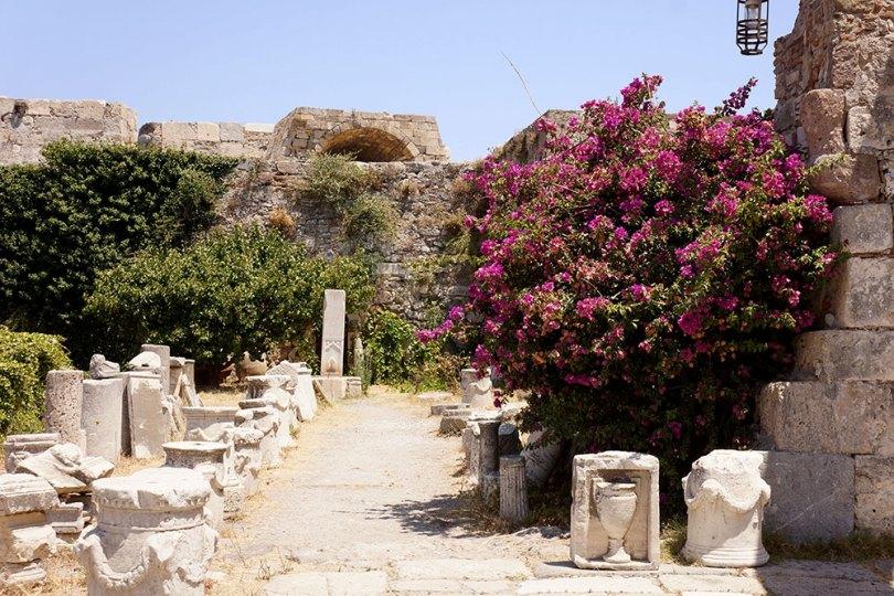 Grèce Kos - Château De Neratzia