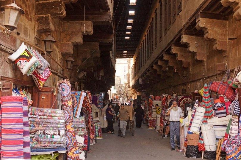 Le Caire - souk des khayameya