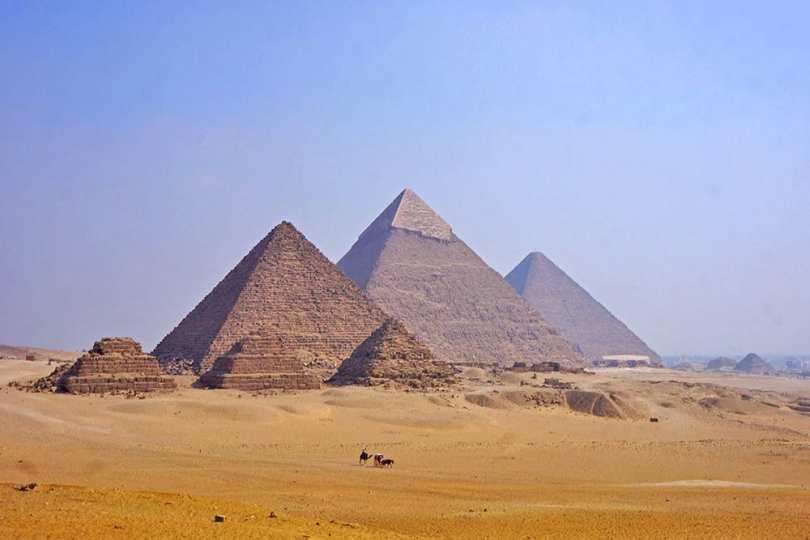 Égypte antique - Pyramides de Gizeh