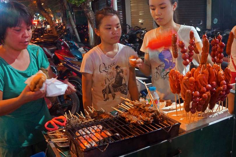 Vietnam - Restaurant de rue