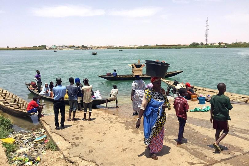 Débarcadère - Rosso Sénégal