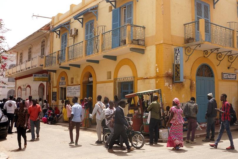 Saint-Louis du Sénégal - Hotel du Palais