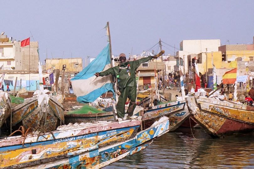 Saint-Louis du Sénégal - Retour de la pêche