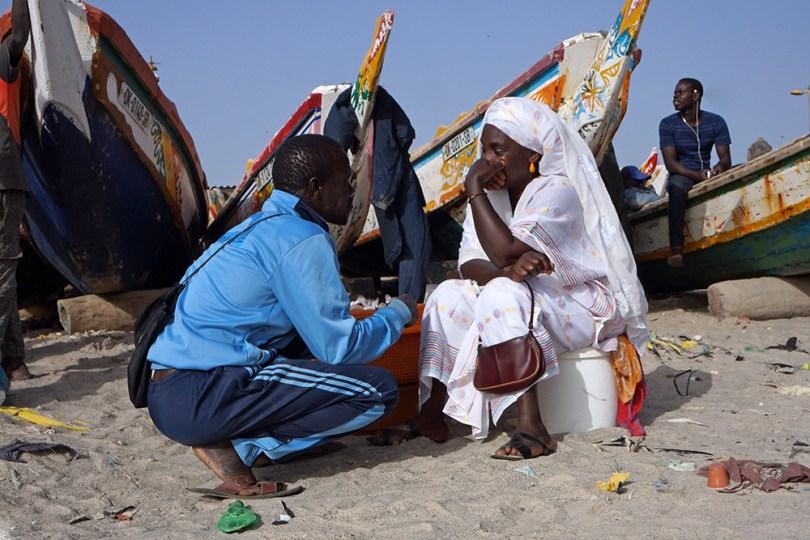 Dakar - Marché aux poissons de Soumbedioune
