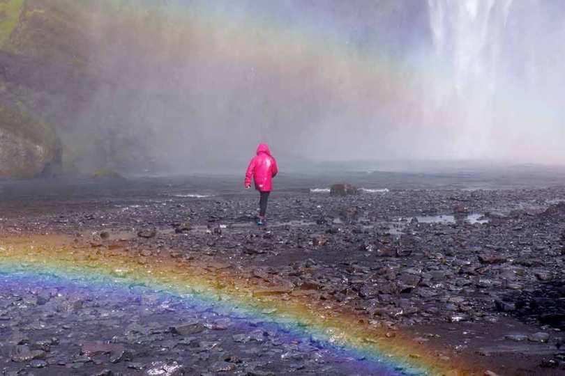 Islande - Arc en ciel