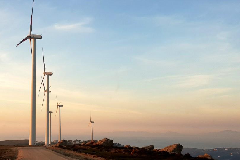 Tanger - Parc éolien Khalladi