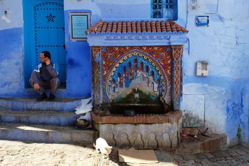 Chefchaouen - La fontaine Rif Al-Andalus