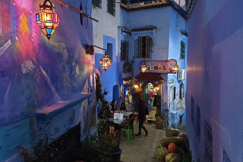 Chefchaouen - Bleu nuit