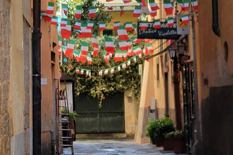 Pise - Italie : Vicolo del Tinti