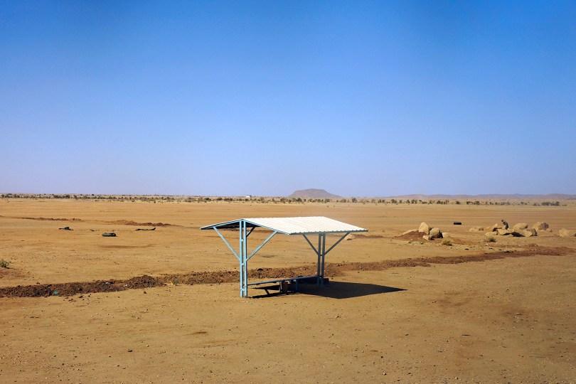 Quelque part au bord d'une route au Soudan