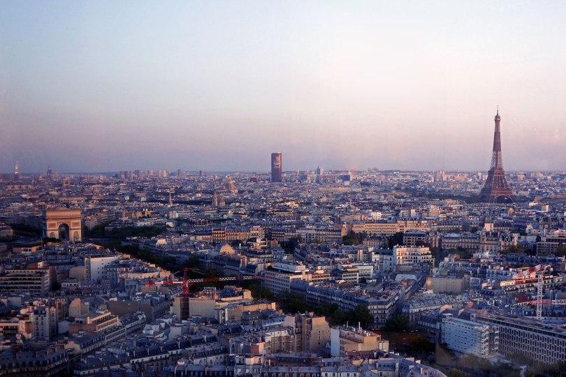 Paris vu d'en haut - Bar de l'hôtel Hyatt Regency