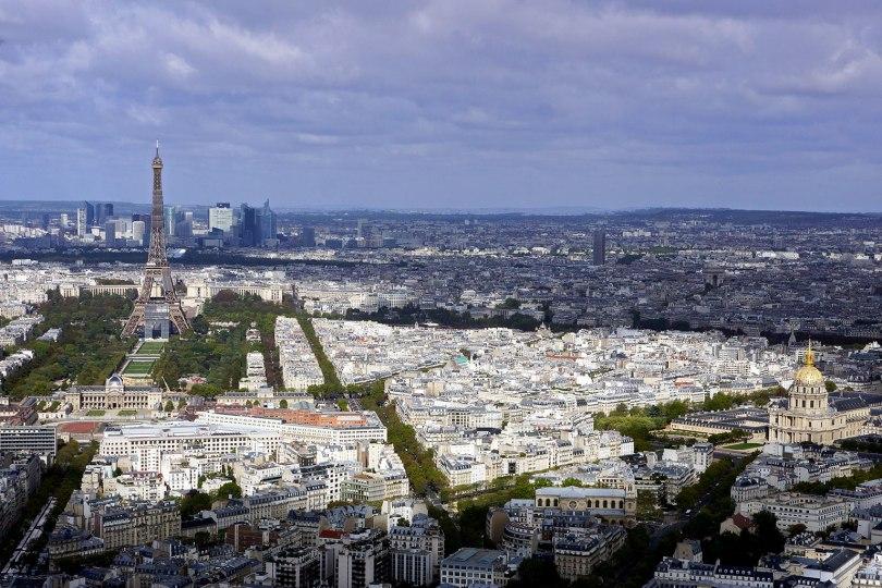 Paris vu d'en haut - Observatoire Panoramique de la Tour Montparnasse